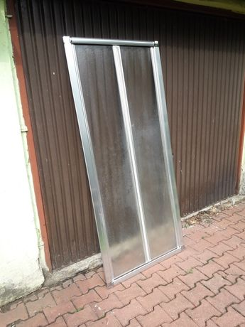 Parawan drzwi prysznicowe prysznic 90 cm
