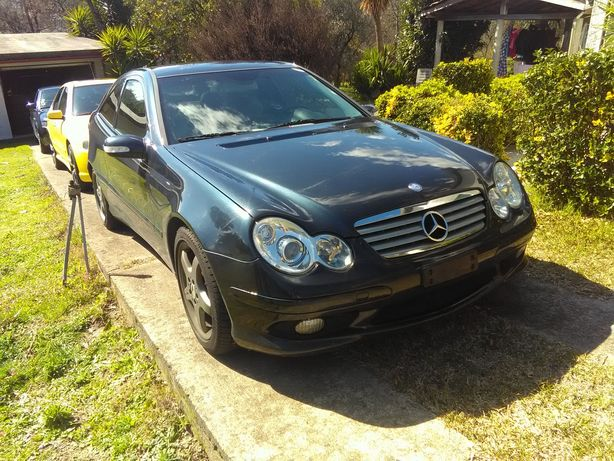 Peças Mercedes C230 compressor AMG
