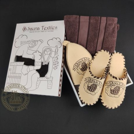 Подарочный набор для бани и сауны «Банька»