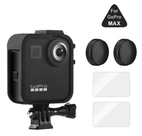 Akcesoria do GoPro MAX - Zestaw RAMKA Osłony obiektywu Szkła hartowane