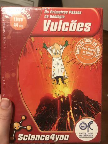experiencia vulcao science4you selado