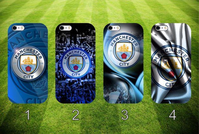 Manchester City nadrukowane etui do telefonu różne modele różne wzory