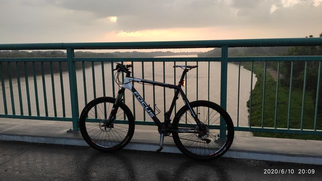 Rower górski focus mtb carbon deore xt