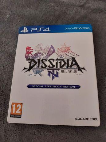 Dissidia Final Fantasy ps4 steelbook English stan idealny