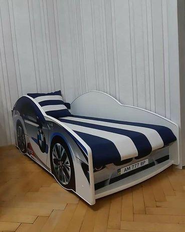 Доставка безкоштовно Ліжко-машина для дітей / Кровать машина для мальч
