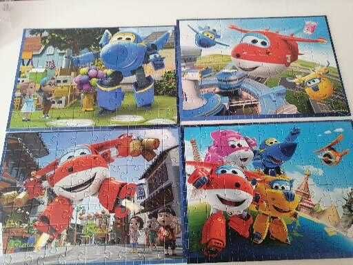 Puzzle 4in1 Super Wings 4+