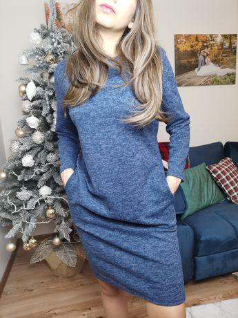Sukienka sweterków tunika L