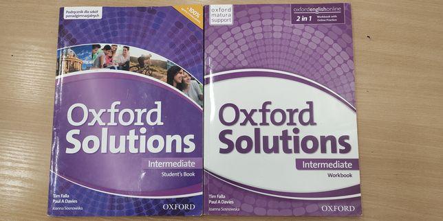 Oxford solutions intermediade podręcznik + ćwiczenia