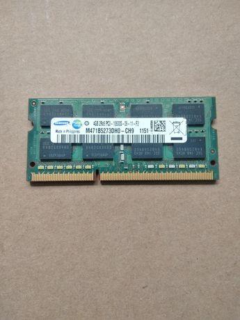 Оперативная память ОЗУ ddr3 4GB 2Rx8 PC3-10600S Samsung So-Dimm