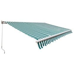 Markiza balkonowa Blooma ręczna 3,95 x 3 m używana