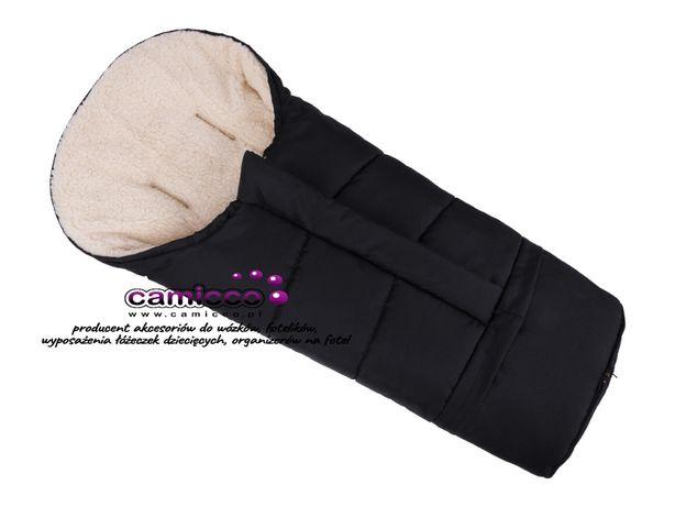 ŚPIWOREK mumia wełna do wózka 90-110 cm ŚPIWÓR REGULOWANY KOMBI