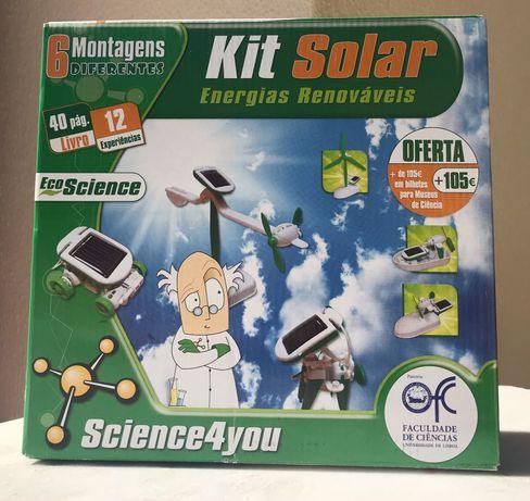 Kit Solar Energias Renováveis Science4you NOVO
