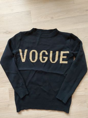 Очень тёплый  свитер vogue шерстяной, зима s
