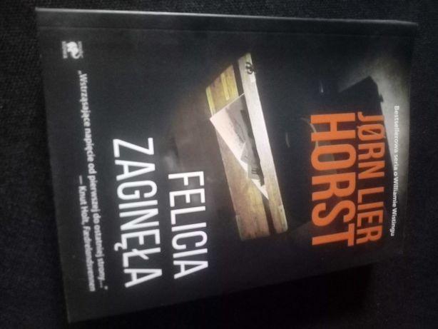 Książka Felicja Zaginęła Jørn Lier Horst