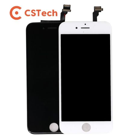 Ecra /Display / visor Apple iPhone 6/6S/7/8Plus preto branc vidro lcd