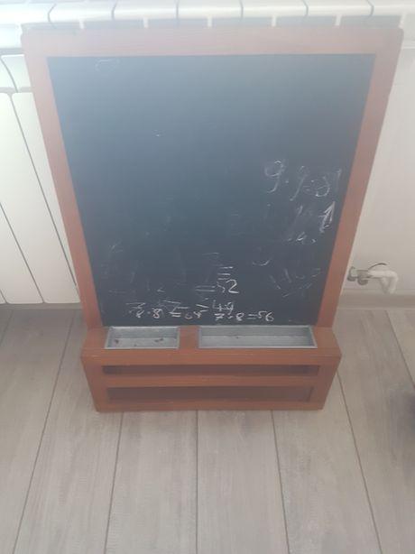 Tablica magnetyczna kredowa Sztaluga do rysowania kreda magnetyczna