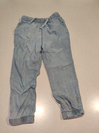 Bawełniane spodnie rozmiar 92