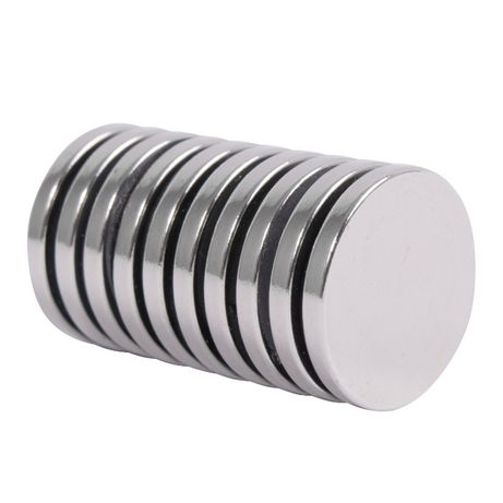 MAGNES NEODYMOWY | magnesy neodymowe | WALCOWY 20x2mm | 10 SZTUK