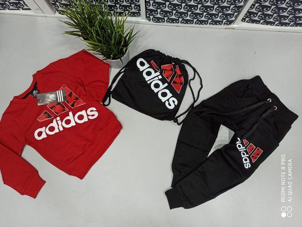 Dres dziecięcy Adidas 3 częściowy 98-122