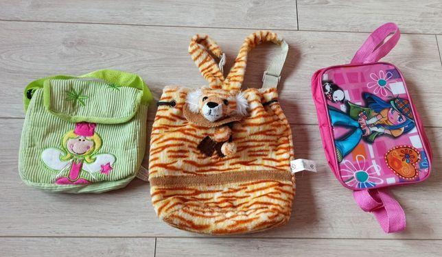 Komplet plecaków dziewczęcych