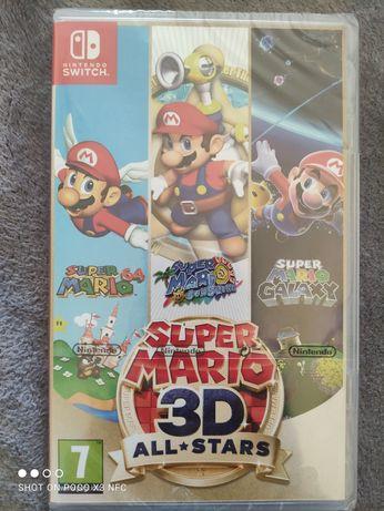 Mario 3D all star nowa,folia