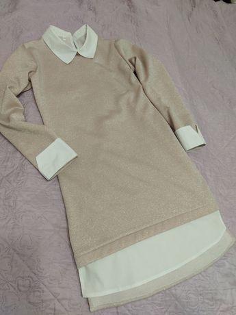 Платье для девочки из люрикса