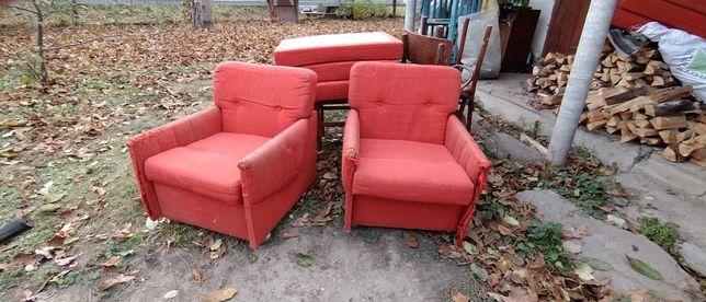 Два кресла, времён Советского союза.