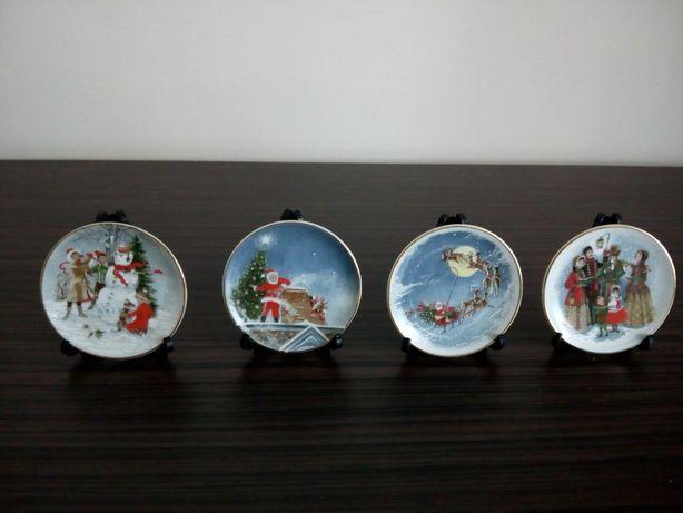 miniaturowe talerzyki kolekcjonerskie