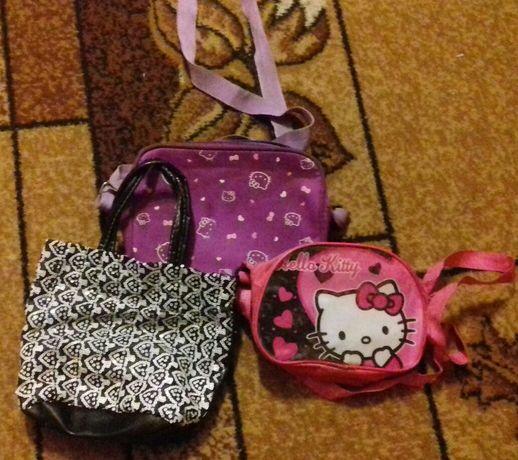 Комплект сумочек 40 грн за 2 шт (розовой нету ), детские сумочки