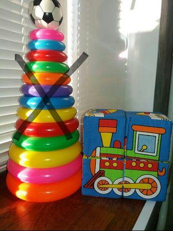 "Мягкие кубики ""Транспорт"", игрушки, развитие, пазл, логика, мышление"