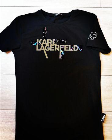 Nowy podkoszulek t shirt Karl lagerfeld
