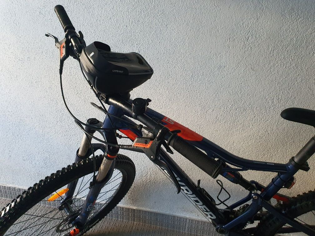 Bicicleta Rockrider St 540 S , suspensão total  - Tamanho L