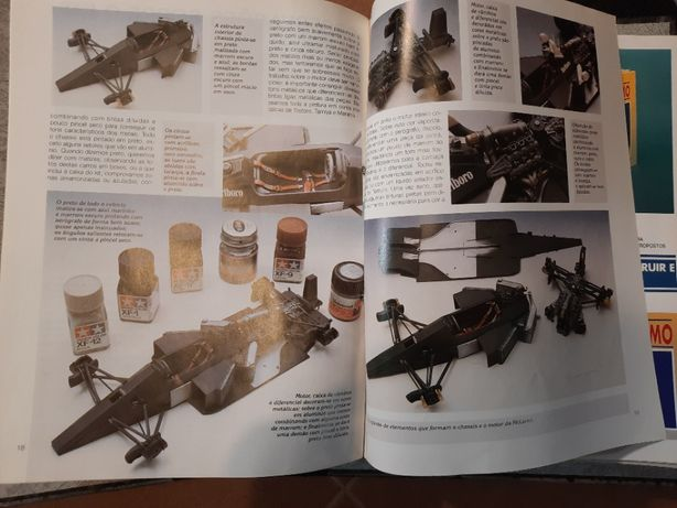 Técnicas de Modelismo - ano 1992 - 60 fascículos - COMPLETA