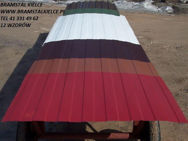 blacha trapezowa Kielce BRAMSTAL PRODUCENT 12 wzorów
