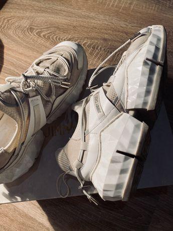 Женские кроссовки Jimmy Choo Diamond Trail White / Джимми Чу