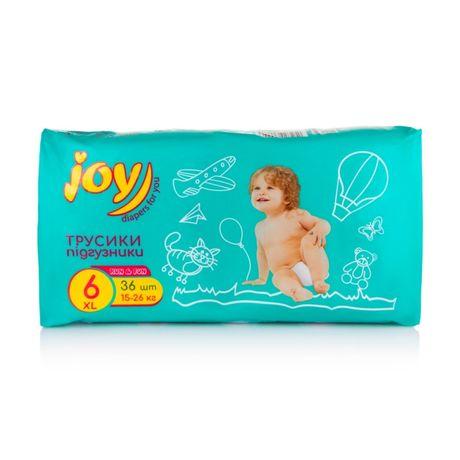 Продам упаковку памперсов (трусиков) joy 6