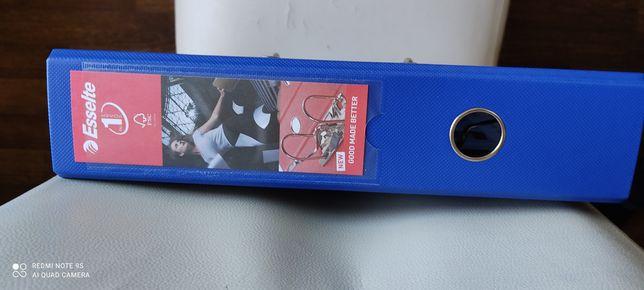 Папка-регистратор Esselte Power А4 75 мм Голубая