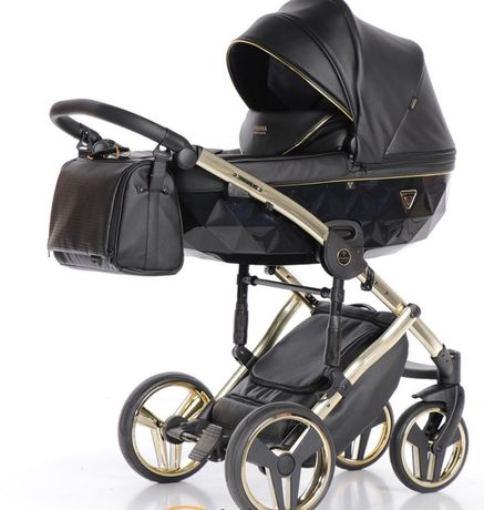 Детская коляска Junama Fluo line+ автокресло в подарок