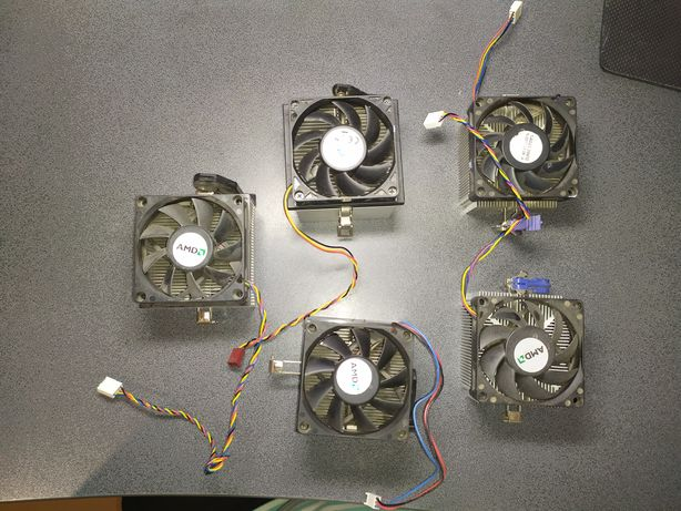Кулера AMD (AM2, AM2+, AM3, AM3+, FM1, FM2, FM2+)