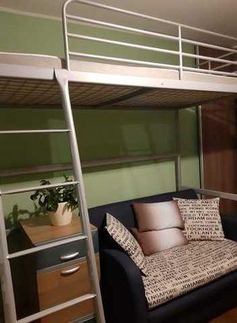 Rama łóżko IKEA PIĘTROWE dla dziecka MŁODZIEŻOWE ANTRESOLA stan bdb