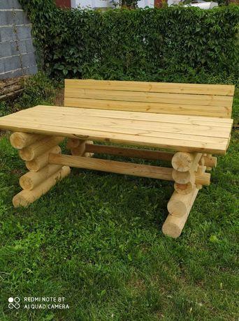 meble ogrodowe góralskie stół ławka wędzarnia buda lampa donica i inne