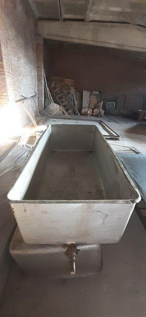 Ванна алюминиевая, бак алюминиевый