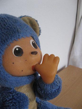Małpka maskotka trociny Misiu Miś pluszak