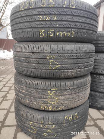 Літні шини 235 55 18 Hankook dynapro hp2, стан нових, 2019, 99% залишк