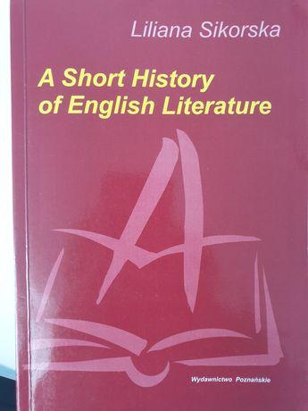 Książka A Short History of English Literature