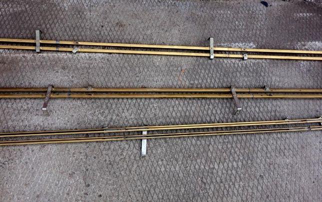 Карниз двойной металлический 270 см с крепежами