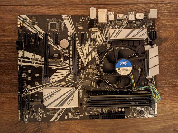 Комплект ASUS PRIME Z390-P + G4930T + 4GB майнинг 8 карт (є 9 шт)