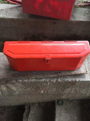 Skrzynka narzędziowa metalowa na Blotniki kabina koja Sokolka c 330
