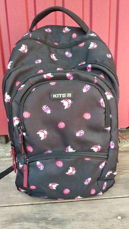 Рюкзак чорний Kite