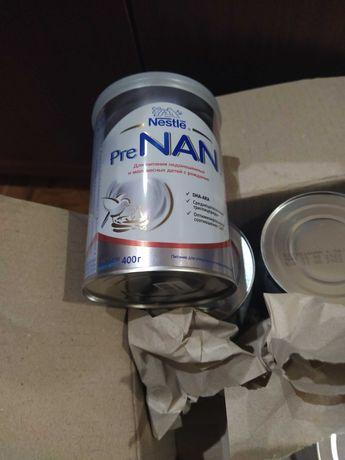 Смесь Nestle Pre NAN 400 г. Для недоношенных и маловесных детей